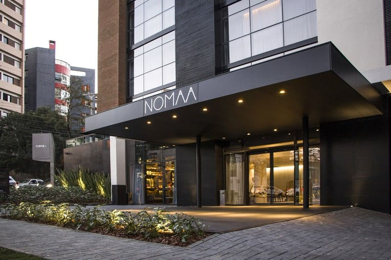 Fachada do hotel - Nomaa Hotel